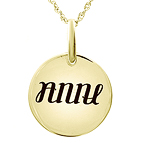 Ambigram Necklace