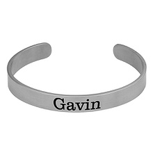 Men's Bangle Bracelet Titanium