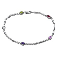 Color Stone Anklet