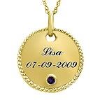 Personalized necklaces & pendants
