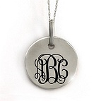 Monogram Initial Necklace Available A-Z