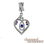 Charmed Memories Love's Embrace Family Sterling Silver Charm