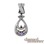 Charm Memories Love Embrace Family Charm Sterling Silver