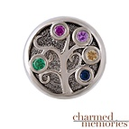 Charm Memories Family Tree Bead Sterling Silver Charm