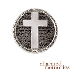 Charm Memories Cross Charm Sterling Silver