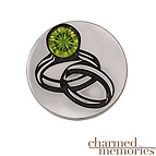 Charm Memories Wedding Rings Charm Sterling Silver