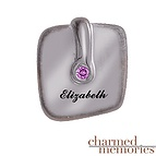 Charmed Memories Graduation Cap Charm Sterling Silver