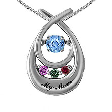 Colors in Rhythm Mother's Necklace Color Stone