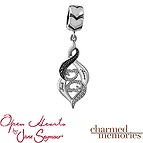 Charmed Memories Couple's Charm Sterling Silver