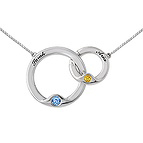 Color Stone Miracle Links Necklace