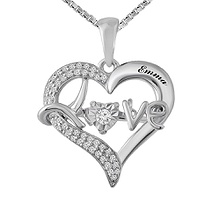 Diamonds in Rhythm Heart Necklace 1/8 Ct. tw Diamond