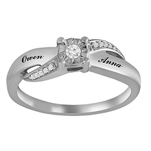 1/15 Ct. tw Diamond Ring