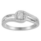 Diamond Ring 1/6 ct tw