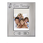 Open Hearts Family Picture Frame