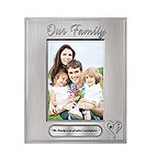 Joining Hearts Family Picture Frame