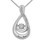 Diamonds in Rhythm Necklace 1/20 Ct. tw Diamond