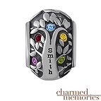 Charmed Memories Family Tree Bead Sterling Silver Charm