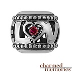 Charmed Memories Couple's LOVE Charm Sterling Silver